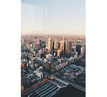 Melbourne, Eureka Tower View Photographic Print