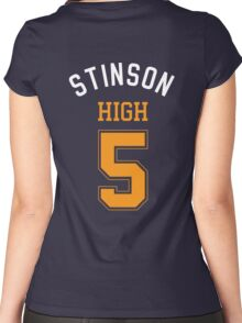 STINSON HIGH 5 Women's Fitted Scoop T-Shirt