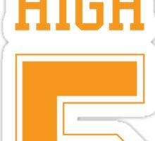 STINSON HIGH 5 Sticker