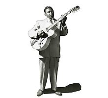 VINTAGE BB KING EARLY IMAGE Photographic Print