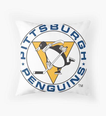 pittsburgh penguins Throw Pillow