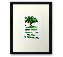 Kendrick Lamar Money tree Framed Print