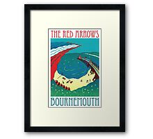 Red Arrows, Bournemouth Framed Print