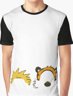 calvin and hobbes not face Graphic T-Shirt
