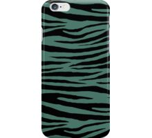 0312 Hooker Green Tiger iPhone Case/Skin