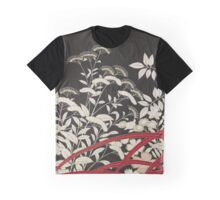 Kuro-tomesode with a Pair of Pheasants in Hiding, Anonymous Graphic T-Shirt