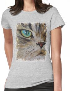 Persian Cat Womens Fitted T-Shirt