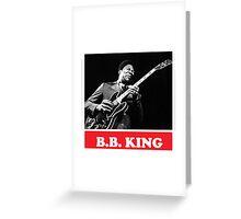 BB KING Greeting Card