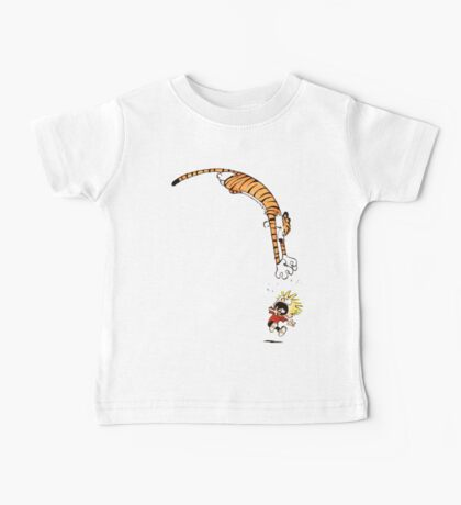 calvin and hobbes hungry Baby Tee
