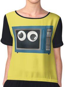 Googly-Eyed Microwave Chiffon Top