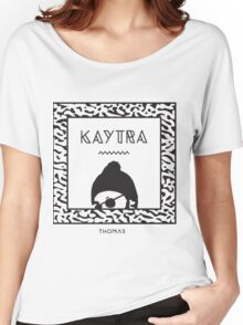 Kaytranada no white Women's Relaxed Fit T-Shirt