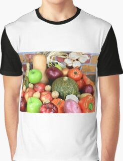 Vegetables and Fruits. Graphic T-Shirt