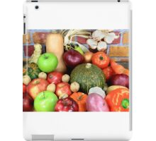 Vegetables and Fruits. iPad Case/Skin