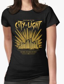 Welcome to the City of Light Womens Fitted T-Shirt