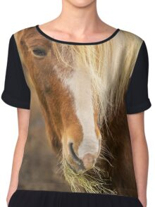 Horse Chiffon Top
