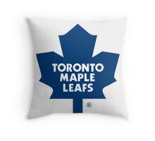 toronto maple leaf Throw Pillow