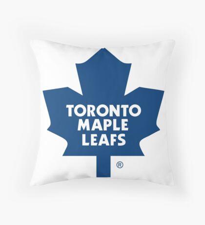 toronto maple leaf Throw Pillow