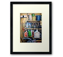 It's a man's world Framed Print