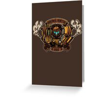 STEAM PUNK HUNTER  Greeting Card