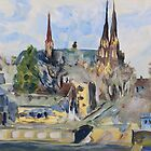 Harbour Charlottetown PEI sketch by TerrillWelch