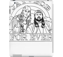 Jay + Bob Forever Clerks Movie Quote iPad Case/Skin