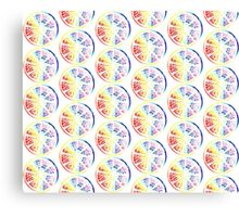 Citrus Rainbow Canvas Print