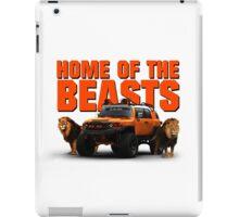 HOME OF THE BEASTS iPad Case/Skin