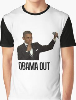 Obama Out Graphic T-Shirt