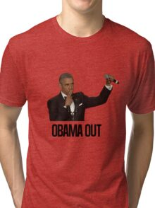 Obama Out Tri-blend T-Shirt