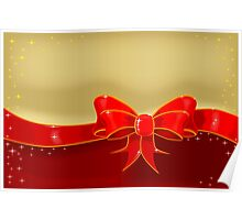 Background Wrapping and Ribbon Poster