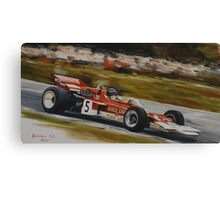 Jochen Rindt, Lotus 72 Canvas Print