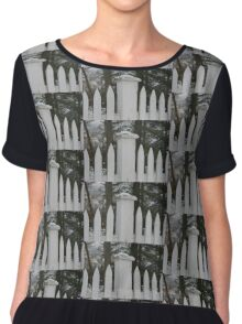 Lonely Fence Chiffon Top