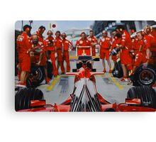 Scuderia Ferrari Marlboro F1 team Canvas Print