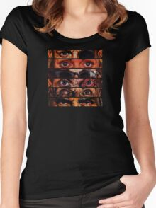 Preacher - Eyes - Dirty Women's Fitted Scoop T-Shirt