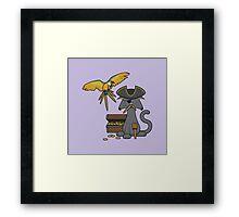 Pirate Cat Framed Print