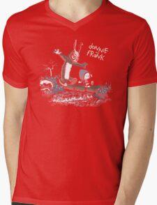 Donnie and Frank Mens V-Neck T-Shirt