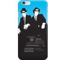 Blues Brothers Minimalist Image iPhone Case/Skin