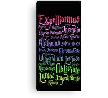 Magic spells mantra Canvas Print