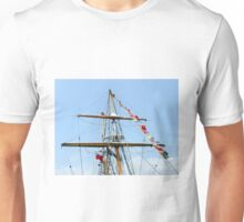 Crow's nests and masts.  Unisex T-Shirt