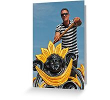 Gondolier Greeting Card