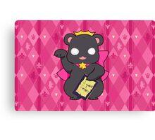 Lucky Bear Ginko Canvas Print