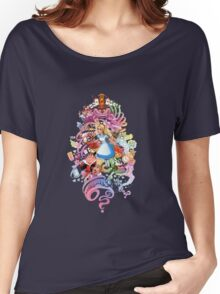 Alice in Madworld Women's Relaxed Fit T-Shirt