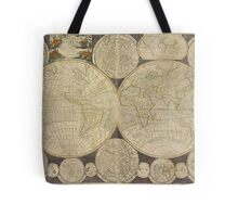 World Map 1798 Tote Bag
