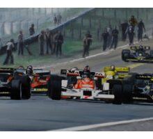 Start of GP Spain 1978 Sticker