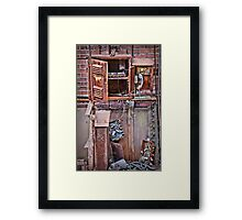 A Collaboration Of Rust Framed Print