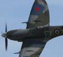 WWII British Spitfire Sticker