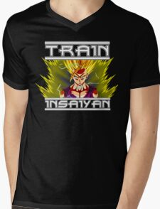 Train Insaiyan Gohan Revisited   Mens V-Neck T-Shirt