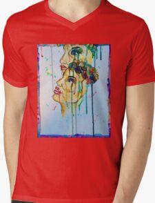 Dripping eyes Mens V-Neck T-Shirt