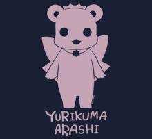Yuri Kuma Ginko Bear Silhouette Kids Tee