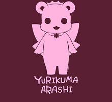 Yuri Kuma Ginko Bear Silhouette Womens Fitted T-Shirt